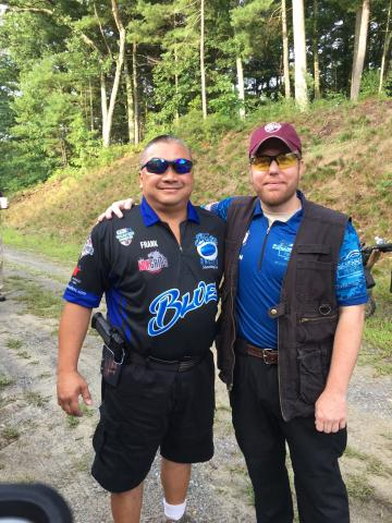 2018 TEAM MFL Competition Shooter Kevin Miller (Right) at Sig Sauer's NER IDPA Competition