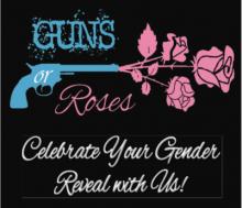 Guns or Roses Gender Reveal